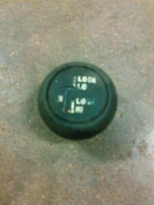BLACK WITH TEAL INLAY TRANSFER CASE SHIFT KNOB FOR FORD GEAR SHIFTER 4X4 4WD