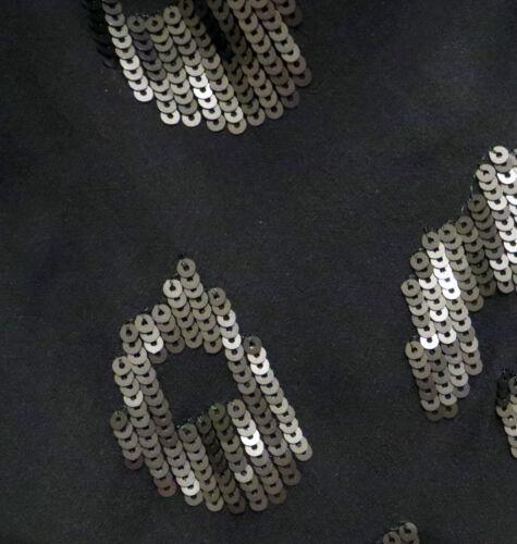 Sequin 10 Black Millen £80 Cost Size Top Stunning Karen Silk Uk xAZqS86Iw