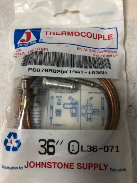 """K19AT 36"""" Universal Replacement Thermocouple, Johnson Controls, Inc."""