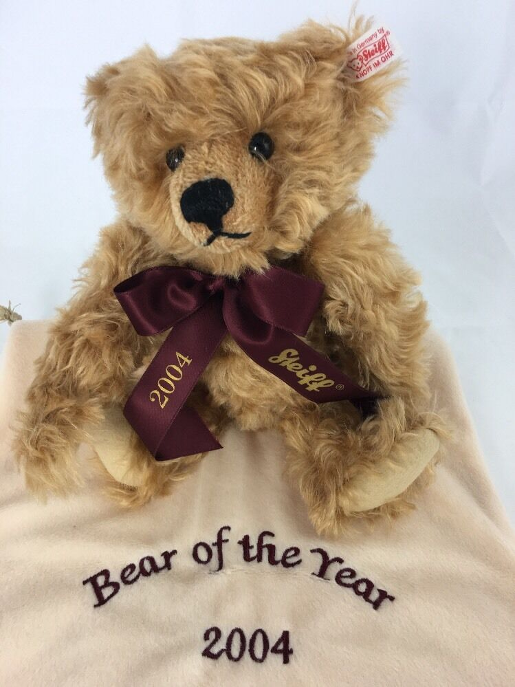 Steiff QVC  The Bear Of The The The Year 2004   Uk & Ireland L.Ed.1 500 2003 EAN 661389 3114bb