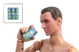 """6PC 1//6 Soft Drink Cans Dr Pepper For Enterbay 12/"""" Action Figure Barbie Dolls"""
