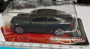 Majorette 212053052 Audi A5 Coupé 3.0 TDI grau Sammlerflyer 1:64 PREMIUM CARS