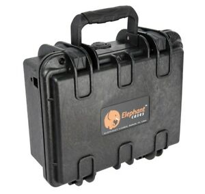 Elephant-E120-Hard-case-for-any-Pistol-gun-or-revolver-of-8-inches-long-or-less