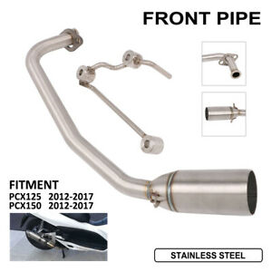 New-Exhaust-System-Header-Front-Link-Pipe-for-Honda-PCX125-PCX-150-2012-2017