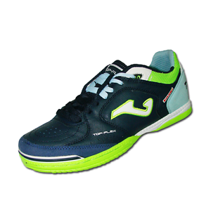 JOMA TOP FLEX 703 NAVY TURQUOISE INDOOR shoes CALCETTO blue