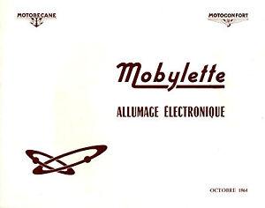 Catalogue-MOTOBECANE-MOTOCONFORT-mobylette-allumage-electronique-1964