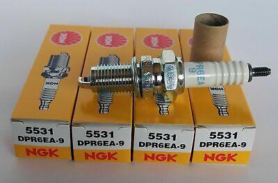 5531 NEW QTY 4 NGK Spark Plugs DPR6EA-9 HONDA SUZUKI TRIUMPH KAWASAKI