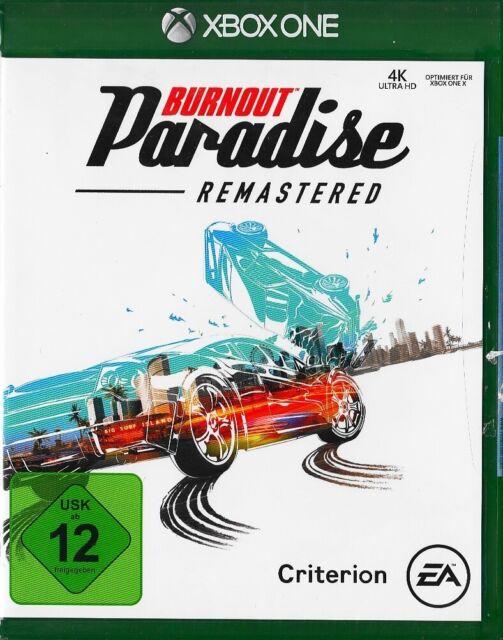 Burnout: Paradise Remastered - Xbox ONE - Neu & OVP - Deutsche USK 12 Version
