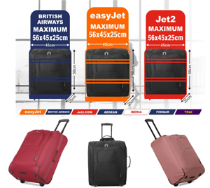 765beb423 Image is loading easyJet-Jet2-BA-Maximum-56x45x25-Lightweight-Hand-Cabin-