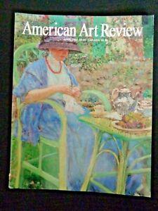 American Art Review Magazine 2001 George Noyes Thomas Moran Frederick C Frieseke