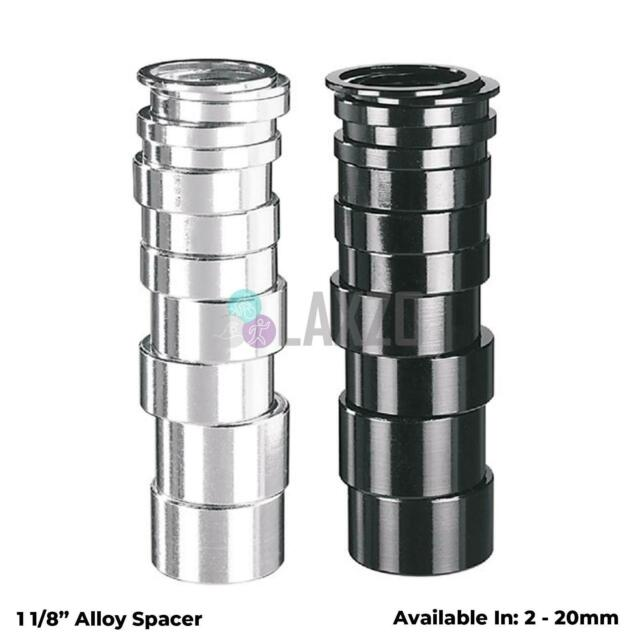 """10mm Blue Spacer 8mm 5mm A2Z Alloy Headset Spacers 1.1//8/"""" MTB Bike 3mm"""