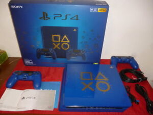 PS4-Console-SLIM-500-GB-Play-Station-4-DAYS-OF-PLAY-LIMITED-EDITION-PAL-ITA