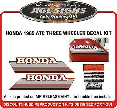 1987 HONDA ATC 250ES Decal kit  reproductions  250 ES