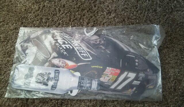 VINTAGE Matt Kenseth #17 Roush Racing Smirnoff Triple Ice black NASCAR BUSCH