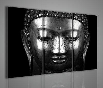 Quadri Moderni Stampa su Tela Canvas cm 100x70 Quadro Moderno Buddha Zen Etnico