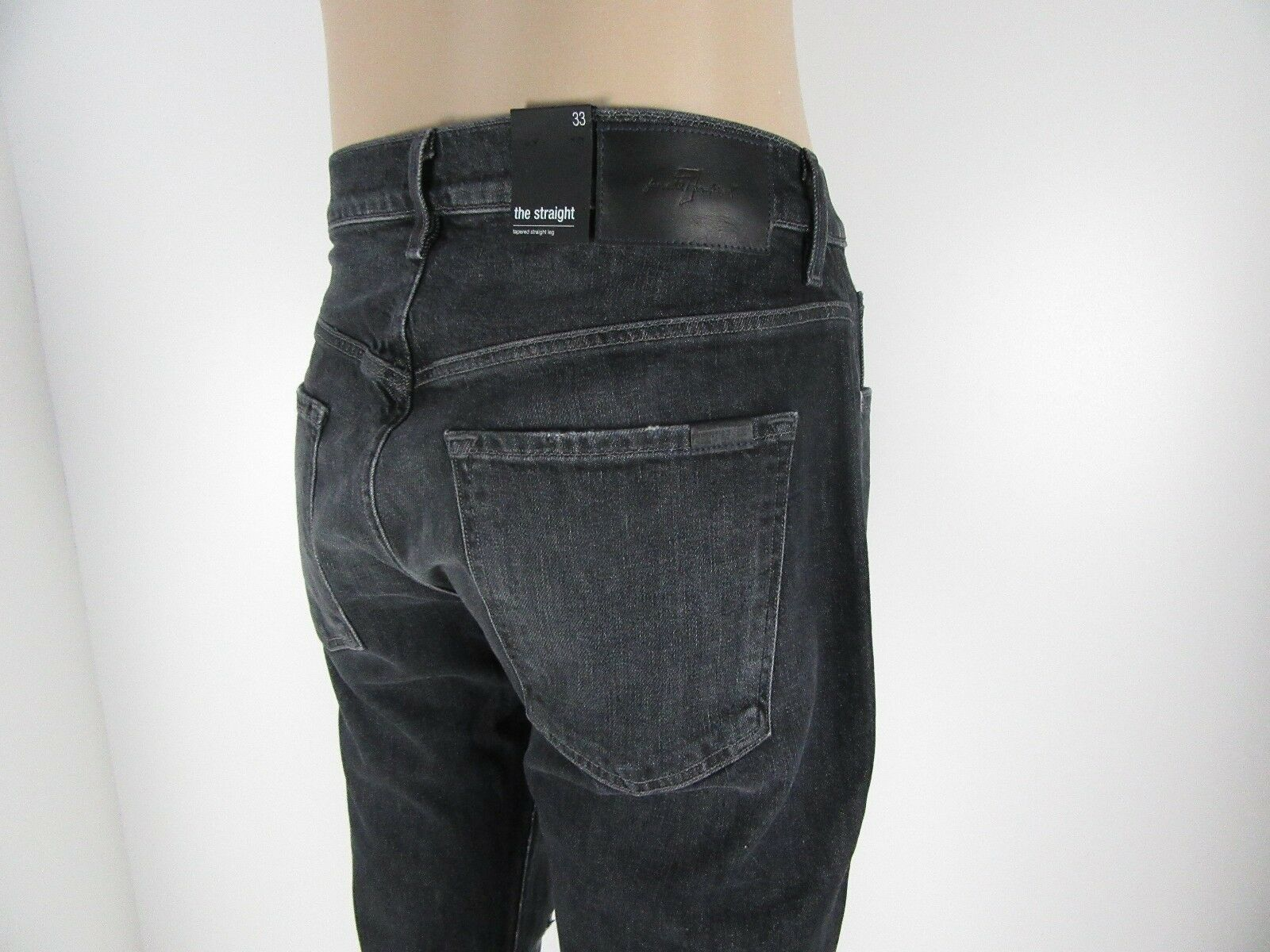 NWT Seven 7 For All Mankind THE STRAIGHT, Tapered Straight Leg,BLOT,Size 33,