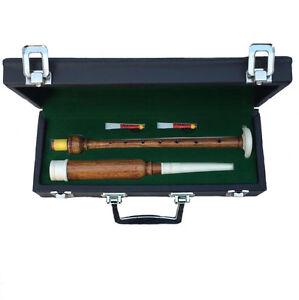 Hm Bagpipe Practice Chanter Palissandre Couleur Naturelle Imitation Ivoire Montant/reeds-afficher Le Titre D'origine Forme éLéGante