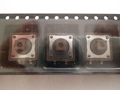Diptronics dtsm 24r-t//r MICRO INTERRUTTORE 12x12mm SMT * 5 pezzi * NUOVO * rosso