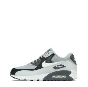 Details zu Nike Air Max 90 Essential Men's Trainers, GreyWhite