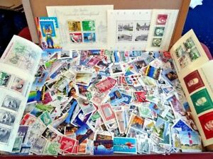 300 different used stamps Germany 1950s to contemporary, off paper, Free  UK P&P
