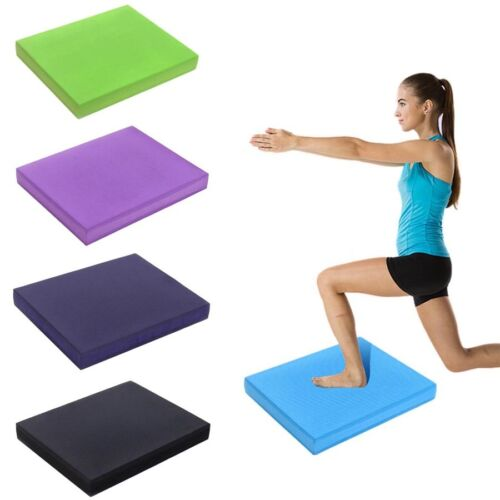 "Large Balance Foam Yoga Pad Physical Therapy Fitness Mat 19.7/"" x 15.7/""x 2.4/"""