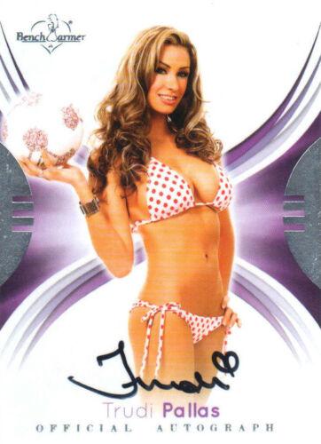 Auto card 2015 Benchwarmer Signature series Trudi Pallas