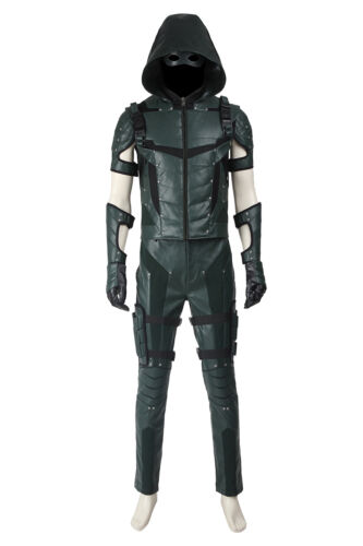 Green Arrow Season 4 Oliver Queen Cosplay Costume Costume Cos Shoes Full Suit