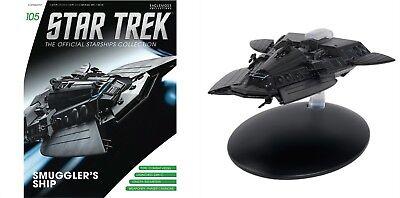 Eaglemoss Diecast Star Trek  Smuggler/'s Ship Combat Vessel #105 with Magazine