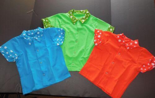 Dance Costume Snapfront  Spandex sleeve shirt 3 colors ch//Mens Dance