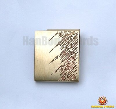 Brass Habaki For Samurai Japanese Katana Wakizashi Tanto Sword Fitting HK08