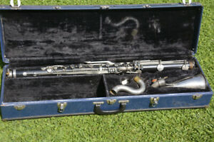 VITO RESO-TONE U.S.A Bb BASS CLARINET,READY TO PLAY/clarinetto basso funzionante