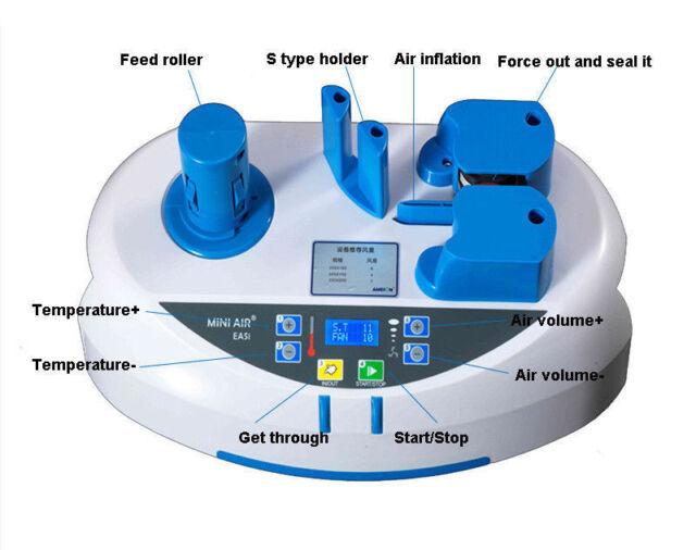 Air Pillow Packaging Machines sol Bubble Wave Wrap for MINI AIR EASI 2 Machine
