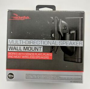 Rocketfish-Multi-Directional-Speaker-Wall-Mount-10lb-Weight-In-Box-Excellent