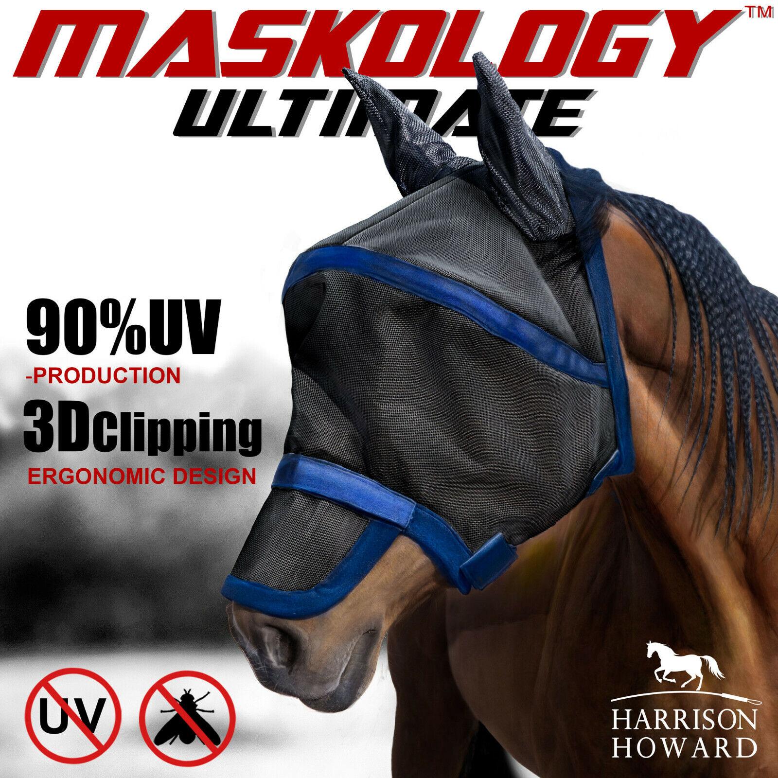 Harrison Howard Maskology Supreme Pferde Fliegenmaske