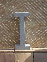 I - Buchstabe Aus Echtem Granit - Für Hotel Gastronomie Und Zu Hause Hausnummer