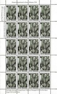 PETE-SEEGER-FOLK-SINGER-1919-2014-ARTIST-STAMP-SHEET-9-2014-BOTTLE-OF-SMOKE