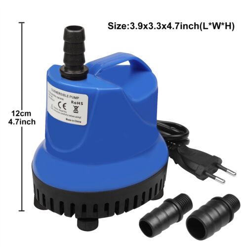 18W 900L/H  Wasserpumpe Tauchpumpe Springbrunnen Submersible Pumpe Gartenteiche