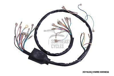 High quality 6V wire harness/loom (4wire) for Honda cub C50 C65 C70 C90 C100