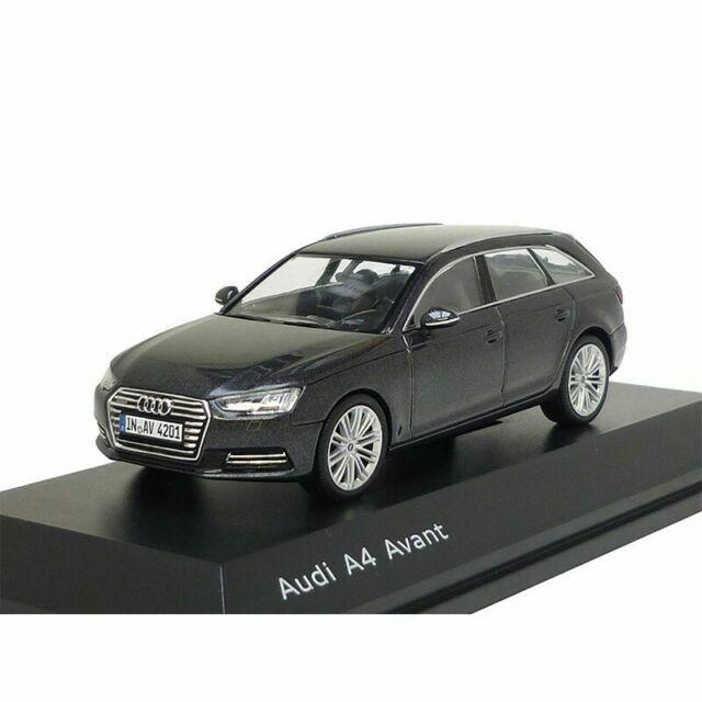 Audi A4 Avant Daytona Grey 1:43 Spark Dealer Pack Modellauto Miniatur 4233