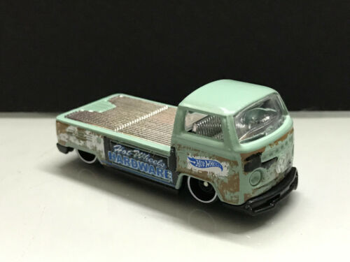 2018 HOT WHEELS /> Volkswagen T2 PICKUP vert clair Filé loose BRAND NEWS