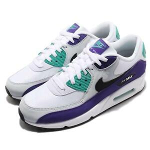 innovative design 5c751 987b4 Image is loading Nike-Air-Max-90-Essential-White-Hyper-Jade-