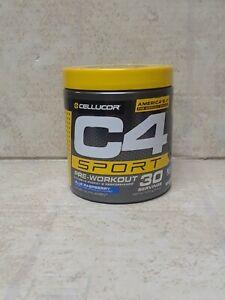 Cellucor  C4 Sport  Pre-Workout  Blue Raspberry  9.5 oz  Ex:03/22 #9198