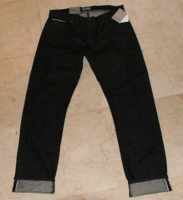limited guantity running shoes moderate cost Calvin Klein CK Premium Black Selvedge Denim Men's Slim Straight Jeans NEW  34x34 797762253262   eBay