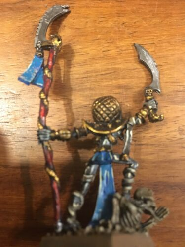 Rois des Tombes Leiche Prêtre Bien Métal Peint Warhammer Fantasy Oop