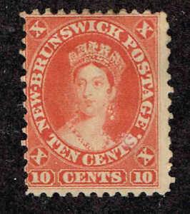 New-Brunswick-9-Queen-Victoria-1860-AVG-Mint-No-Gum-Canada-Province