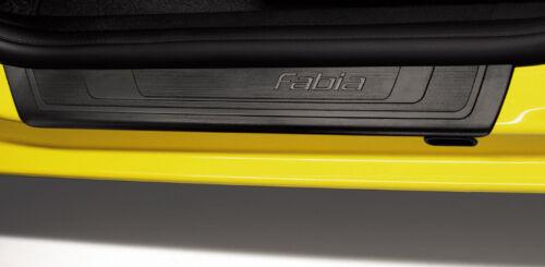 Original Skoda Fabia 5J Einstiegsleisten schwarz KDA700001