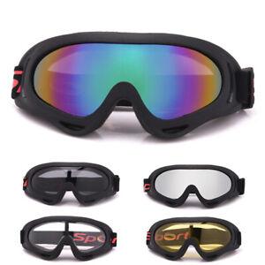 Ski-Goggles-Anti-Fog-UV-Schnee-Snowboard-Radfahren-Sonnenbrillen-Brille-W0-E