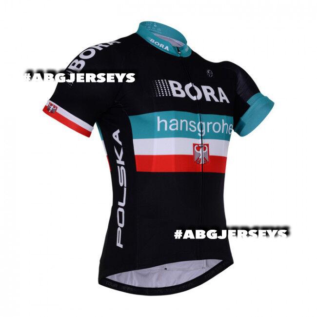 Nuevo 2018 Bora Hansgrohe Majka Polonia Jersey Hobby Ciclismo Tour de France Pro