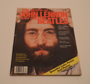 VTG The World Of John Lennon And The Beatles Special Memorial Edition Magazine