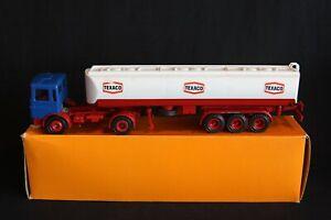 "Gescha Model M.A.N 19.280 FS Truck + Tanker Trailer ""Texaco"" 1:50 #3021 (J&KvW)"